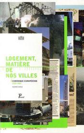 Logement, matière de nos villes - Intérieur - Format classique