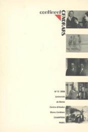 Continent Cendrars t.13 ; variations - Couverture - Format classique