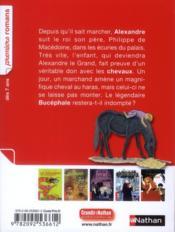 Cheval de roi - 4ème de couverture - Format classique