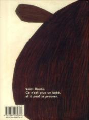 Grand petit boubo - 4ème de couverture - Format classique