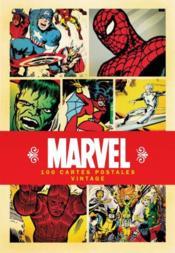 Marvel ; 100 cartes postales vintage - Couverture - Format classique