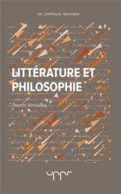 Littérature et philosophie - Couverture - Format classique
