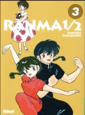 Ranma 1/2 - édition originale T.3 - Couverture - Format classique