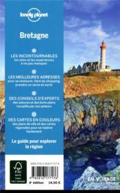 Explorer la région ; Bretagne (4e édition) - 4ème de couverture - Format classique