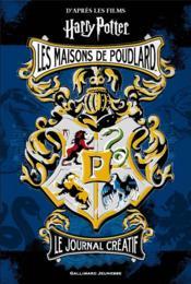 Harry Potter - journal créatif 1 : les maisons de Poudlard - Couverture - Format classique