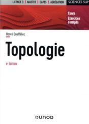 Topologie (6e édition) - Couverture - Format classique