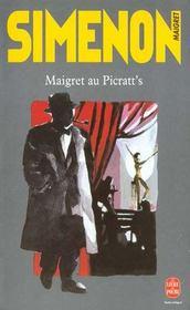 Maigret au Picratt's - Intérieur - Format classique