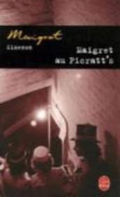 Maigret au Picratt's - Couverture - Format classique