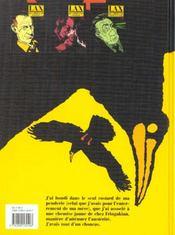 Le choucas t.2 ; le choucas s'incruste - 4ème de couverture - Format classique