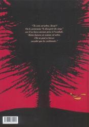 Le désespoir du singe t.1 ; la nuit des lucioles - 4ème de couverture - Format classique