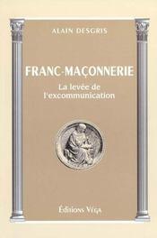 Franc maconnerie ; la levee de l'excommunication - Intérieur - Format classique