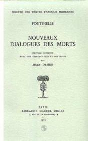 Nouveaux dialogues des morts - Couverture - Format classique