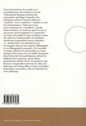 Banlieues ; une anthologie - 4ème de couverture - Format classique