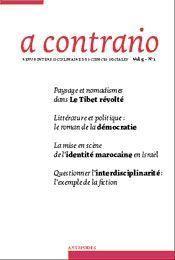 Revue A Contrario N.1/5 - Intérieur - Format classique