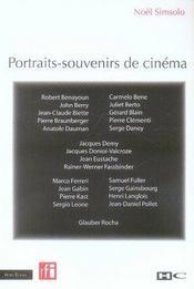 Portraits-souvenirs de cin?ma - Intérieur - Format classique