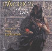 Calendrier faeries 2005 - Couverture - Format classique