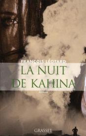 La nuit de Kahina - Couverture - Format classique