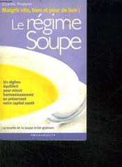 Le Regime Soupe - Couverture - Format classique