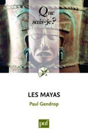 Les mayas (9e. édition) - Couverture - Format classique