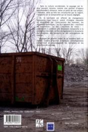Paysages En Devenir - 4ème de couverture - Format classique