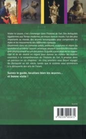 Objectif Louvre t.3 ; histoire des arts en famille - 4ème de couverture - Format classique