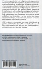Cent mots pour l'entretien clinique - 4ème de couverture - Format classique