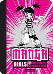 30 Postcards Manga Girls /Anglais - Couverture - Format classique