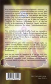 Guide pratique des sept chakras - 4ème de couverture - Format classique
