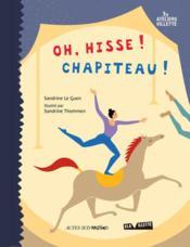 Oh, hisse ! chapiteau ! - Couverture - Format classique