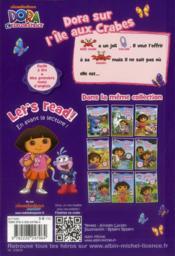 Dora sur l'île aux crabes - 4ème de couverture - Format classique