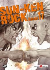 Sun-ken rock t.17 - Couverture - Format classique