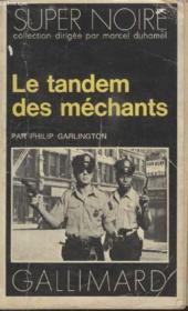 Collection Super Noire N° 68. Le Tandem Des Mechants. - Couverture - Format classique
