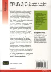 La norme epub 3 - 4ème de couverture - Format classique