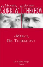 « merci Dr. Tchekhov » - Couverture - Format classique