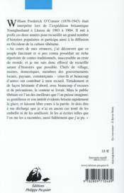Comment le lièvre eut la lèvre fendue et autres contes tibétains - 4ème de couverture - Format classique