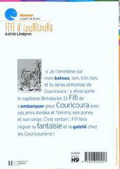 Fifi à couricoura - 4ème de couverture - Format classique