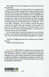Le chemin de l'homme ; le problème de l'homme ; fragments autobiographiques - 4ème de couverture - Format classique