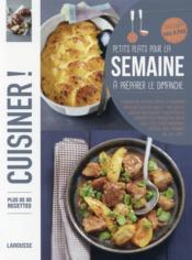 Petits plats pour la semaine - Couverture - Format classique