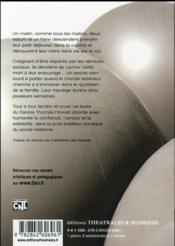 Le secret - 4ème de couverture - Format classique