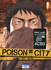 Poison city T.2 - Couverture - Format classique