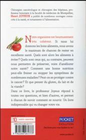 Changez d'alimentation - 4ème de couverture - Format classique