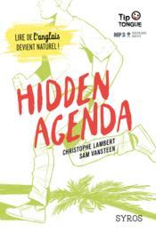 Hidden agenda - Couverture - Format classique
