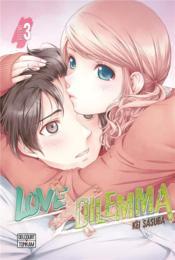 Love X dilemma T.3 - Couverture - Format classique