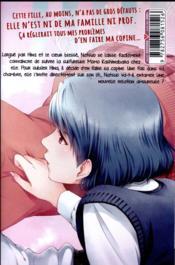 Love X dilemma T.3 - 4ème de couverture - Format classique