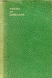 Poems Of Lakeland, An Anthology - Couverture - Format classique