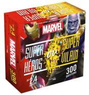 Boîte super-héros ou super-vilains ; Marvel - Couverture - Format classique