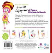 Princesse Cépagrave et Poupa l'enfant du monde - 4ème de couverture - Format classique