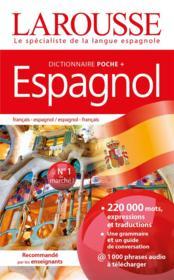 Dictionnaire Larousse poche + espagnol - Couverture - Format classique