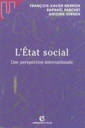 L'etat social - une perspective internationale (1re édition) - Intérieur - Format classique