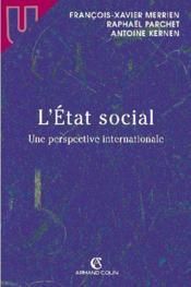 L'etat social - une perspective internationale (1re édition) - Couverture - Format classique